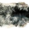 Isländisch Schaffell weiss-schwarz