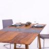 Tisch Birne mit Granit