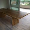 Tisch Eiche Baumkante 3m